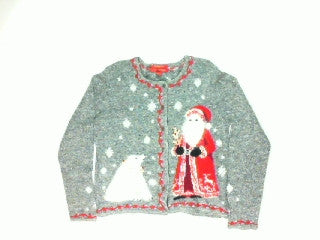 Old World Santa-Small Christmas Sweater