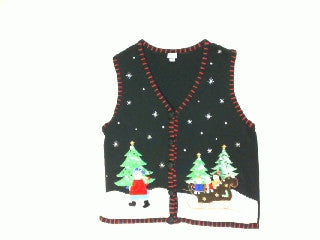 Sleigh Ride Two-Large Christmas Sweater