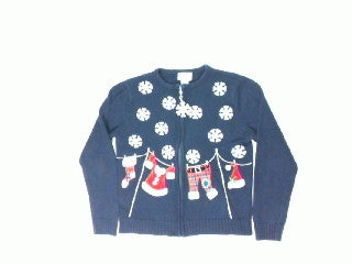 North Pole Laundry Day-X Small Christmas Sweater