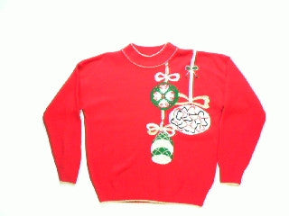Look At Those Ornaments-Medium Christmas Sweater