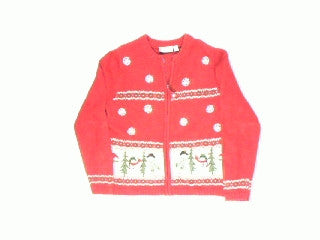 Country Snowman-X Small Christmas Sweater