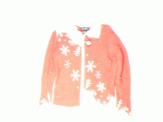 Hillside Snowflakes-XSmall Christmas Sweater