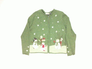 Snowmen For Rent-XSmall Christmas Sweater
