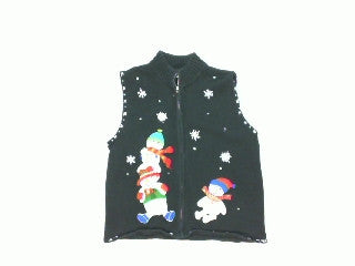 Snow Buddy Fall Out-Small Christmas Sweater