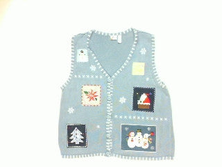 Lil Piece of Christmas Everywhere-Large Christmas Sweater