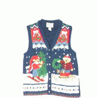 Tree Pickin Party-Small Christmas Sweater