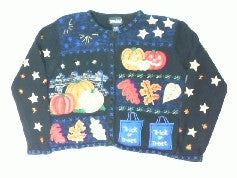 Falling For Halloween-Small Halloween Sweater
