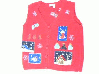 Winter Wonderlands-Large Christmas Sweater