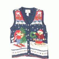 You Got  A Bear Doing the Decorating-Small Christmas Sweater