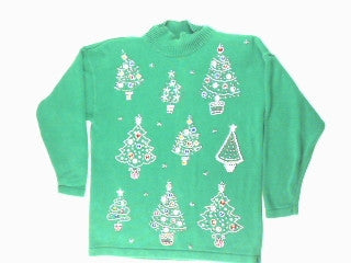 Did You Leave A Bead On My Tree-Medium Christmas Sweater