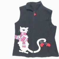 Scat Cat In Disguise-X Small Christmas Sweater
