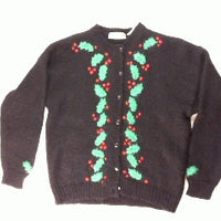 It's A Hollyday-Large Christmas Sweater