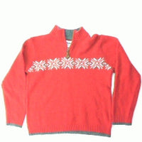 There Are Snowflakes on Your Sweater-Small Christmas Sweater