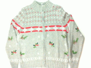 Snowing Hollyday-Medium Christmas Sweater
