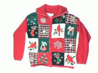 Something To Tweet About-Small Christmas Sweater