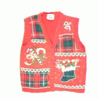 Stuffed Stockings-Small Christmas Sweater