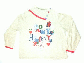 Spell It Out-Large Christmas Sweater
