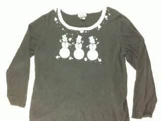 Top Hat Delight-X Large Christmas Sweater