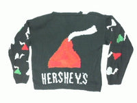 No Need For Mistletoe With These Kisses-Large Christmas Sweater