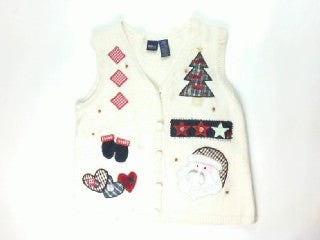 Flashback Patch Work-X Small Christmas Sweater