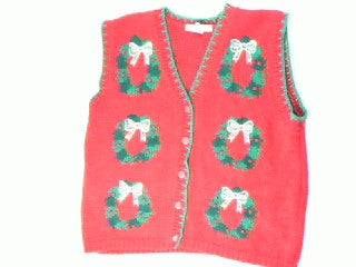 Oh Christmas Wreath Oh Christmas Wreath-Large Christmas Sweater