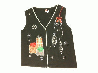 Pretty Fancy Presents-Large Christmas Sweater