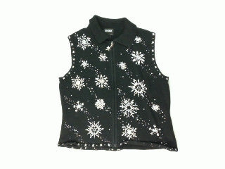 Silver Lining In The Snow-Small Christmas Sweater