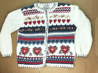 Love My Heart-Small Christmas Sweater