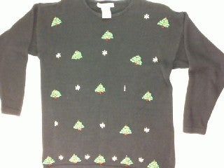 Pick A Tree Everywhere A Tree-Medium Christmas Sweater