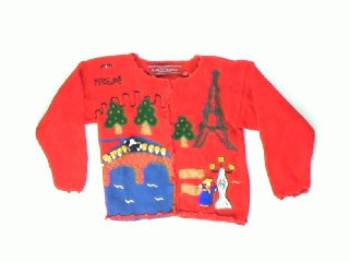 Oui Oui-Medium Christmas Sweater