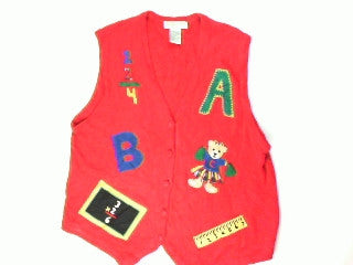 Rah Rah Rah ABC-Large Christmas Sweater