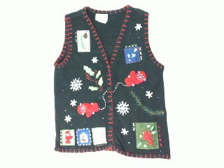 Picture Perfect for Postcards-Small Christmas Sweater