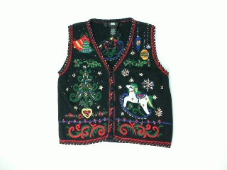 Rockin Round the Christmas Tree-Small Christmas Sweater