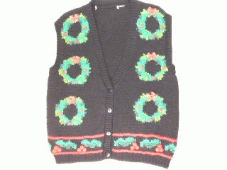 Your Door Lost It's Wreath-Small Christmas Sweater