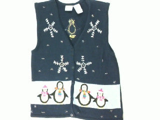 Polar Penguin Parade-X Small Christmas Sweater
