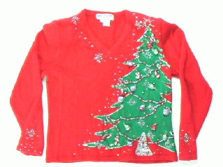 How Lovely Are Your Branches X Small Christmas Sweater