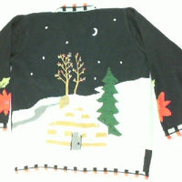 Stockings Are Hung With Care-Small Christmas Sweater