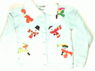 Snowman Shake- X Small Christmas Sweater