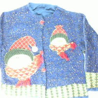 Snazzy Snowmen- Large Christmas Sweater