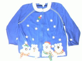 Polar Bear Pals- XX Large Christmas Sweater