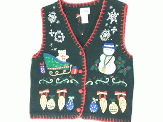 Holiday Mess- Small Christmas Sweater