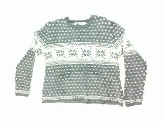 Feeling A Little Winter Gray- X Small Christmas Sweater