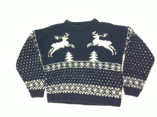 Flying Reindeer-Small Christmas Sweater