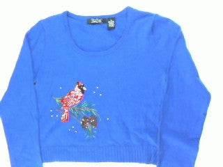 Go Redbirds-X Small Christmas Sweater