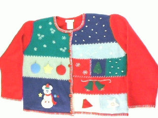 Snowmickey Like Your Mickey- Large Christmas Sweater