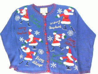 How Do You Say Your Holiday Greetings-Small Christmas Sweater