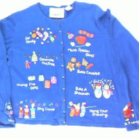 Holiday Preparation List- Small Christmas Sweater