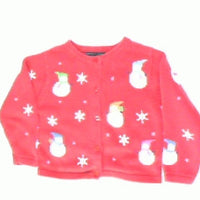 Snowmen Fashion Hats-Kids Christmas Sweater