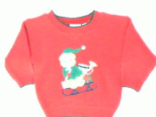 Sled Full Of Toys-Kids Christmas Sweater