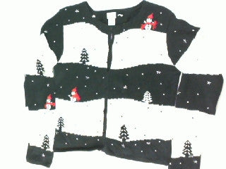 Starry Night In The Woods- Kids Christmas Sweater